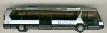 Rietze Neoplan-Metroliner TELMA-Werbemodell