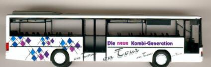 Rietze Setra S 315 UL Kässbohrer-Werbem. on Tour
