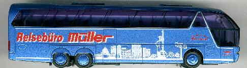 AWM Neoplan-Starliner - 3-achs. Müller,Biblis