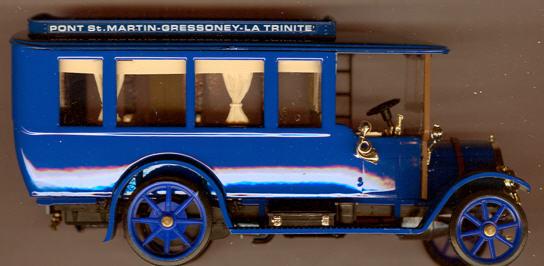 RIO Fiat 18BL Bus 1915 Pont-St.Martin-Gressoney-