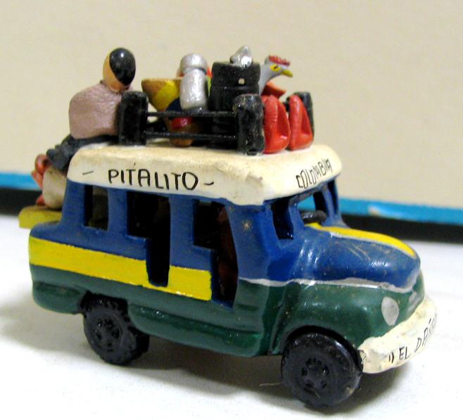Tonbus aus Kolumbien