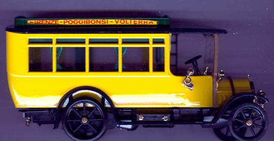 RIO Fiat 18BL Bus 1915 Firenze-Poggibonsi-Volterra