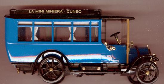 RIO Fiat 18BL Bus 1915 La Mini Minerva-Cuneo