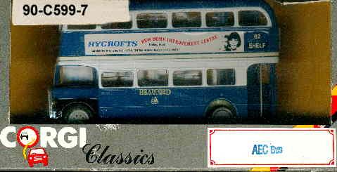 Corgi AEC-Bus DD RYCROFTS