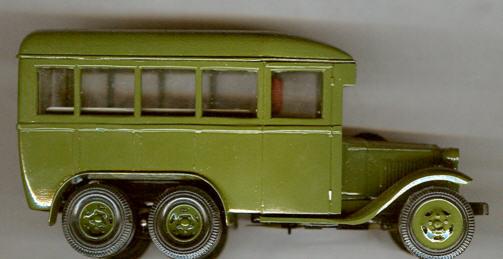 V/R ZIS 42 Omnibus russ.Handarbeit