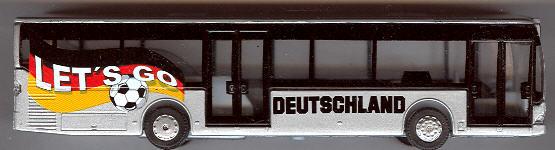 Dickie Mercedes Benz MB O 530 Citaro Sondermodell zur Fußball-WM