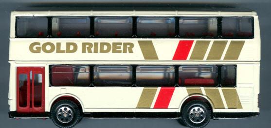 Corgi Metro Bus DD YR./GOLD RIDER