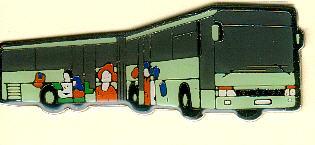 Schlüssel-Anhänger Setra SG 321 UL
