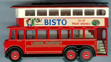 Lledo Trolley Bus Bisto