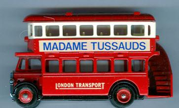 Lledo AEC-Regent 1932 DD MADAME TUSSAUDS