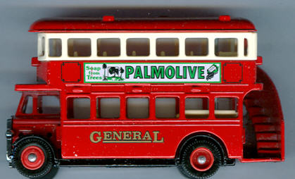 Lledo AEC-Regent 1932 DD Palmolive Soap