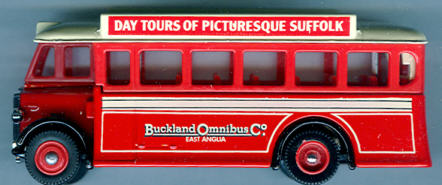 Lledo AEC-Regal 1932 Buckland Bus Co.