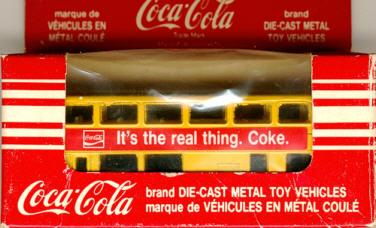 Matchbox London DD It's the real thing. Coke