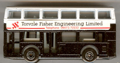 Matchbox London DD Torvale Fisher Engineering