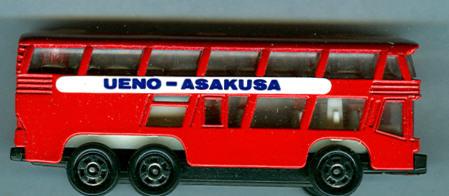 Tomica Neoplan-Skyliner UENO-ASAKUSA