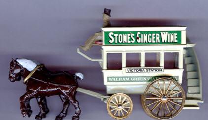 Lledo Postkutsche Stones Ginger Wine
