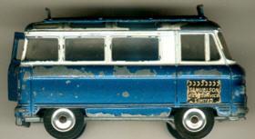 Corgi Commer-Bus 2500 Serie Samuelson Film-Service Lim.