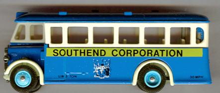 Lledo AEC-Regal 1932 Southend Corporation