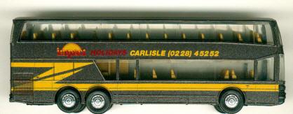 Herpa Setra S 228 DT impact Holidays CARLISLE