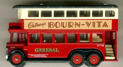 Lledo AEC-Renown 1931 DD BOURN VITA