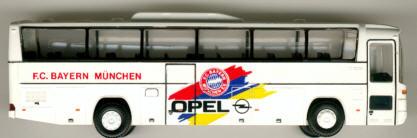 Rietze Mercedes Benz MB  O 303 15 RHD FC Bayern MünchenOpel