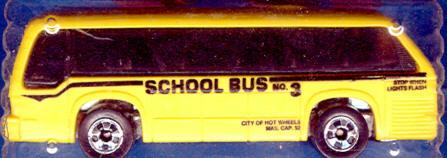 Mattel Rapid Transit School Bus