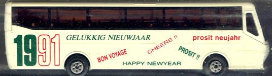 Efsi Bova-Bus Happy Newyear 1991