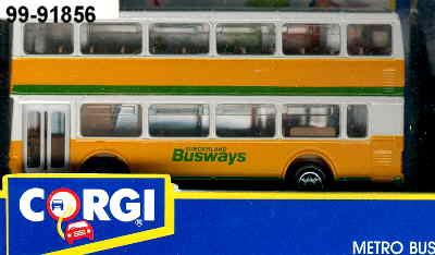 Corgi Metro Bus DD YR./SUNDERLAND BUSWAYS