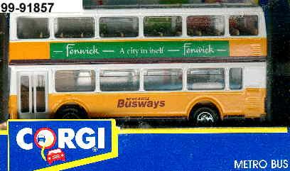 Corgi Metro Bus DD YR./Fenwick..