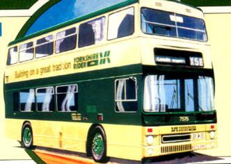 Corgi Metro Bus DD YR./Leeds City