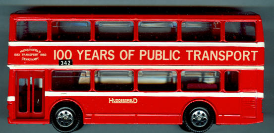 Corgi Metro Bus DD YR./Huddersfield 100 J.