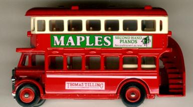 Lledo London DD-Bus MAPLES