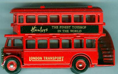 Lledo London DD-Bus Hamleys