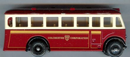 Lledo London-Bus Colchester Corpor.