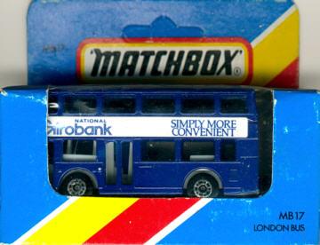 Matchbox London DD-Bus National Girobank
