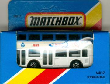 Matchbox London DD-Bus Space 1988