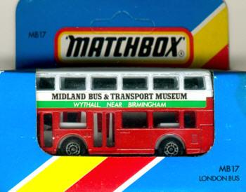 Matchbox London DD-Bus Midland Bus & Transport