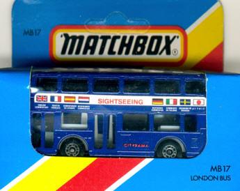 Matchbox London DD-Bus Sightseeing / Cityrama