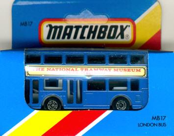 Matchbox London DD-Bus The National Tramway Museum