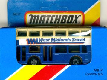 Matchbox London DD-Bus West Midlands Travel