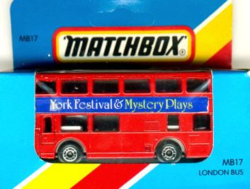 Matchbox London DD-Bus York Festival & Mystery Play