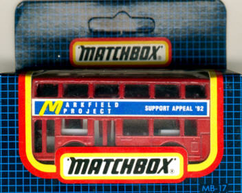Matchbox London DD-Bus Markfield Project