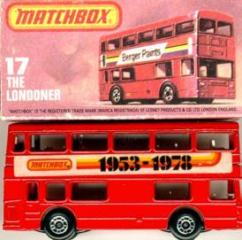 Matchbox London DD-Bus Matchbox 1953-1978