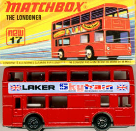 Matchbox London DD-Bus Laker