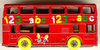 Matchbox London DD-Bus 123 abc