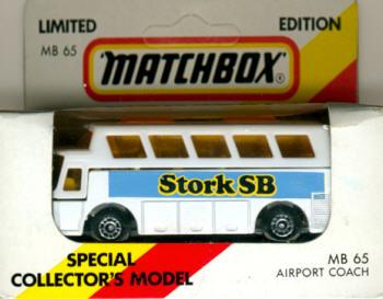 Matchbox Flughafen-Bus Stork SB