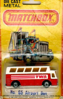 Matchbox Flughafen-Bus TWA