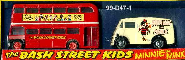 Corgi Morris J van & AEC-Bus