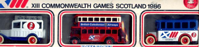 Lledo Sonderedition 1986 XIII.Commonw.Games Scotl.