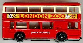 Lledo London DD-Bus LONDON ZOO